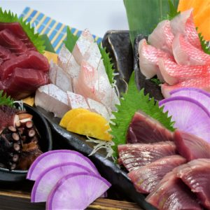 メニュー__food_assortedsashimi1_hanatare-headoffice